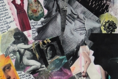 Abschied, 49x27 Collage